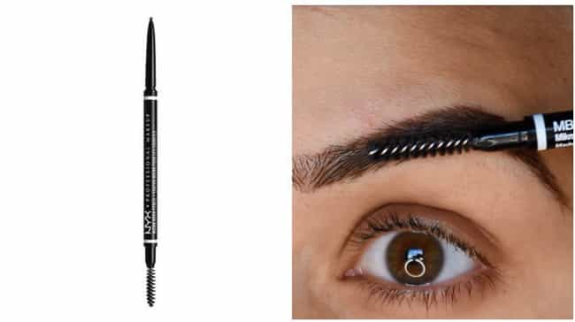 NYX Micro Brow Pencil is listed (or ranked) 1 on the list The Best Drugstore Brow Products For The Girl With Sparse Brows And An Empty Wallet