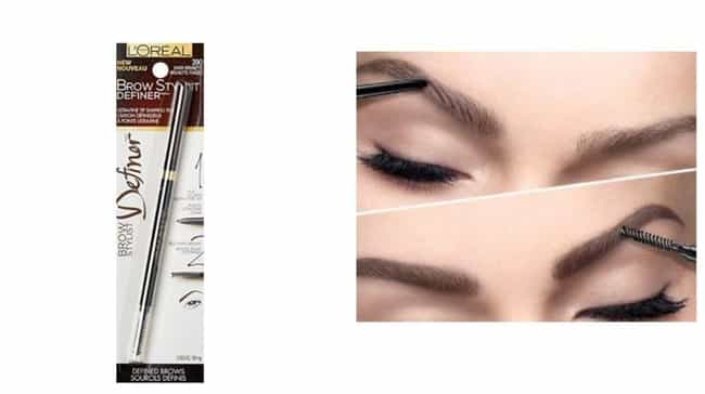 L'Oreal Brow Stylist Def... is listed (or ranked) 2 on the list The Best Drugstore Brow Products For The Girl With Sparse Brows And An Empty Wallet