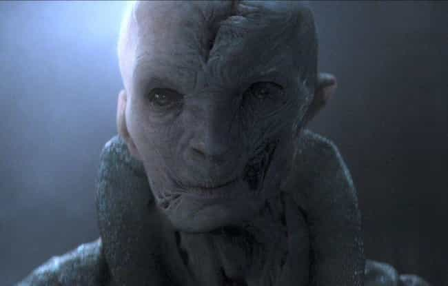 Who Is Snoke? is listed (or ranked) 1 on the list 13 Unanswered Questions From Star Wars: The Last Jedi
