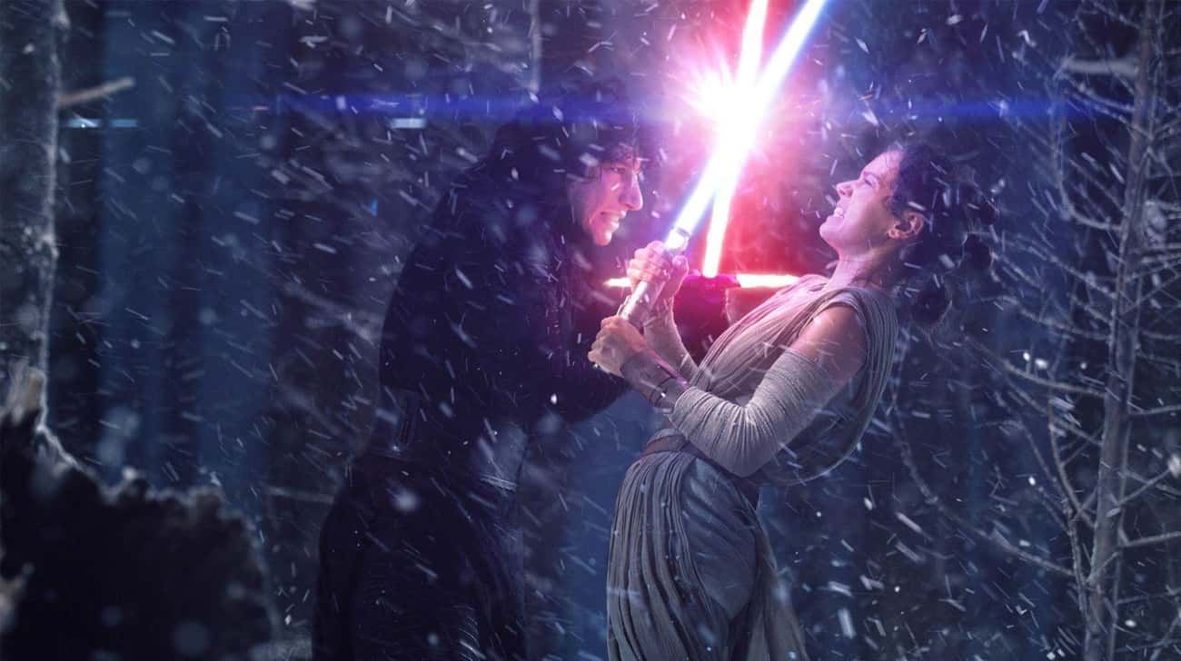 Rey And Kylo Ren Will Have A F is listed (or ranked) 2 on the list 15 Predictions About What Will Happen In Star Wars: Episode IX