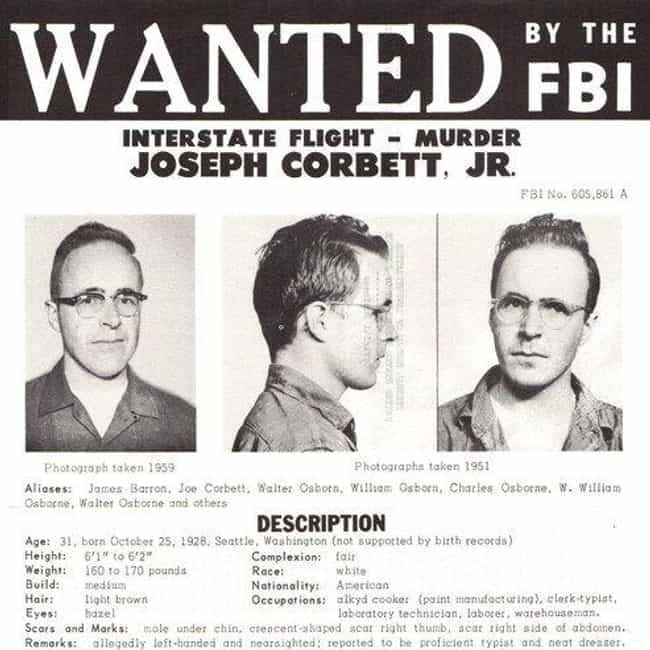 Joseph Corbett Was Alrea... is listed (or ranked) 4 on the list The Murder Of Beer Mogul Adolph Coors III Launched The FBI's Biggest Manhunt In Decades