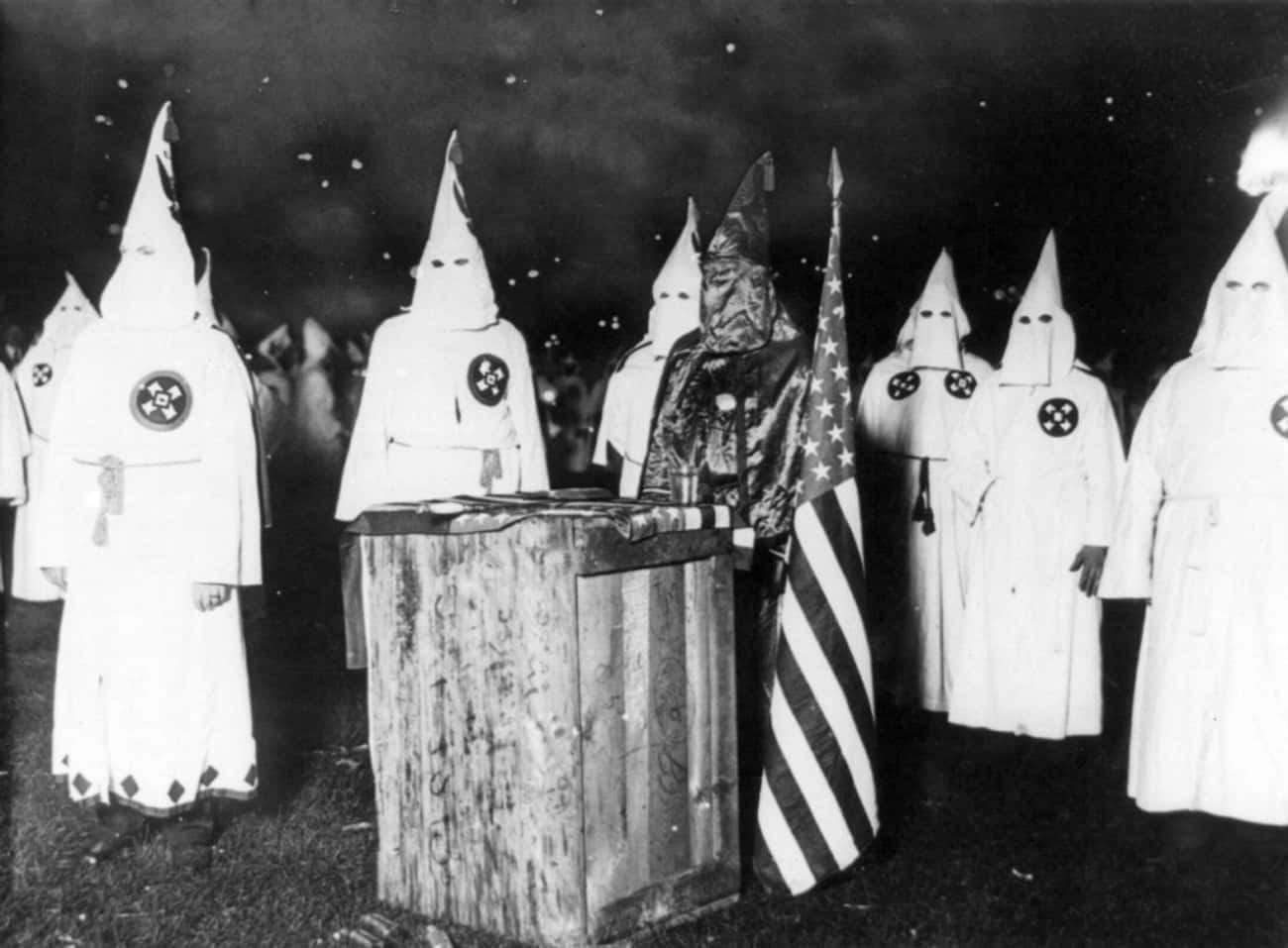 Tyler Identified More Enemies  is listed (or ranked) 3 on the list Meet The Evil, Racist Mastermind Who Saved The KKK From Going Extinct