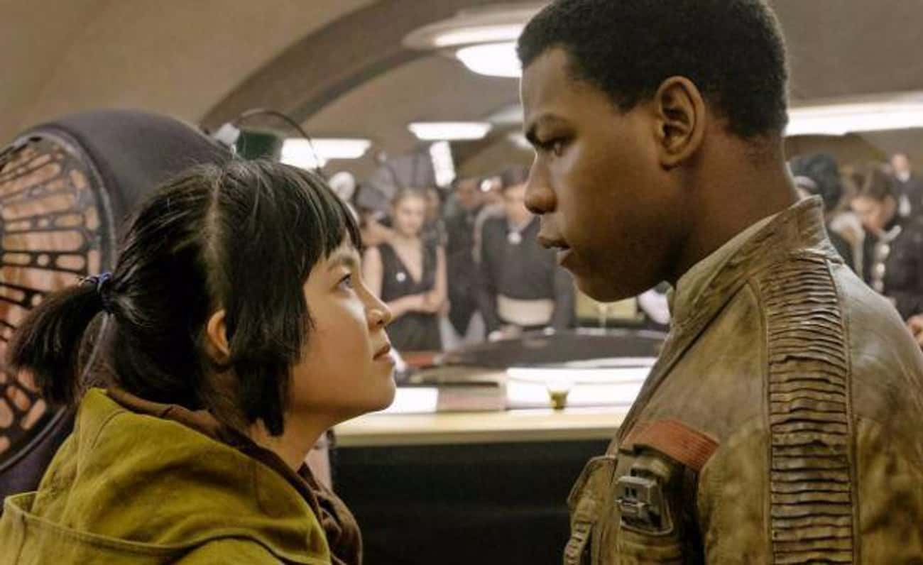 Finn And Rose's Adventure Was  is listed (or ranked) 1 on the list What The Haters Are Saying About Star Wars: The Last Jedi