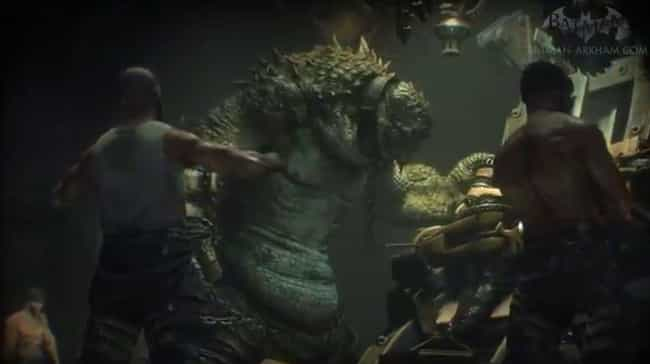 Killer Croc is listed (or ranked) 1 on the list List Of All 'Arkham Knight' Bosses Ranked Best To Worst