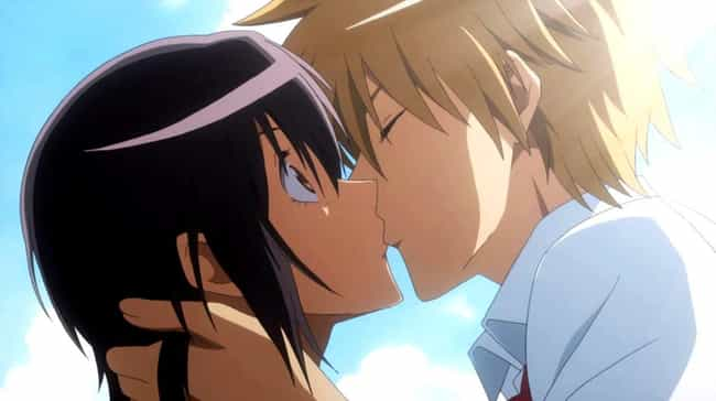 Takumi Usui & Misaki... is listed (or ranked) 1 on the list The 14 Best First Kisses In Anime History