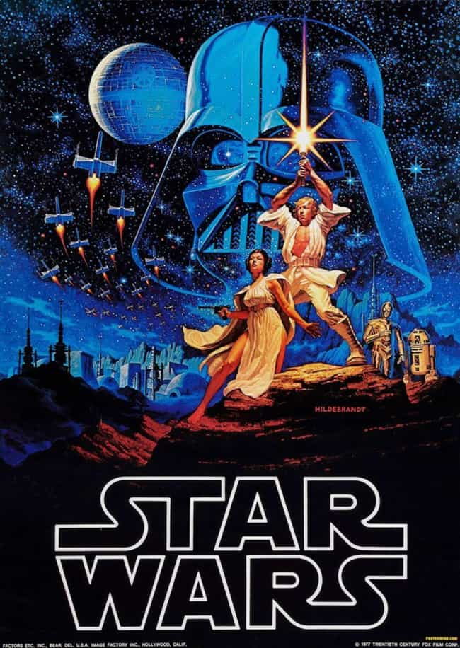 The Very First 'Star War... is listed (or ranked) 1 on the list The Best Star Wars Posters From Around The World
