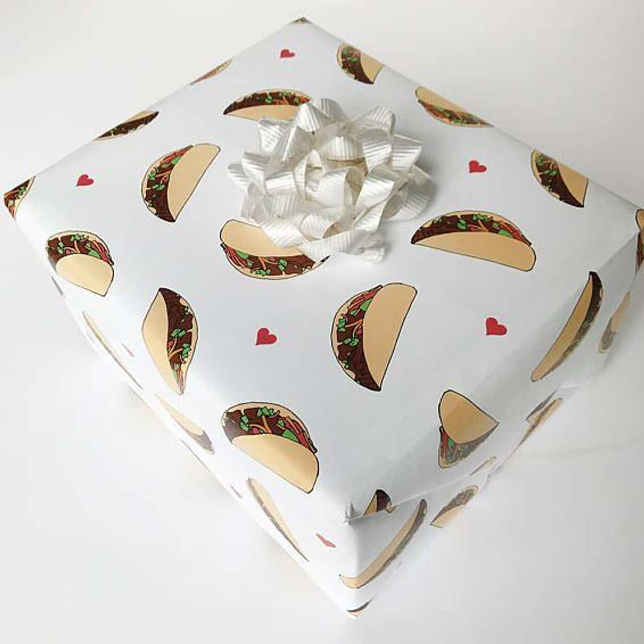 Taco Wrapping Paper is listed (or ranked) 3 on the list These Delightful Wrapping Papers Will Make You Want To Leave Your Gifts Under The Tree All Year Long