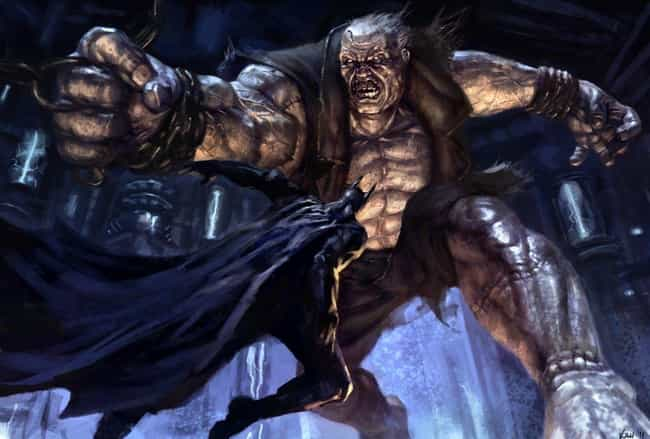 Solomon Grundy is listed (or ranked) 4 on the list List of All Arkham City Bosses Ranked Best to Worst
