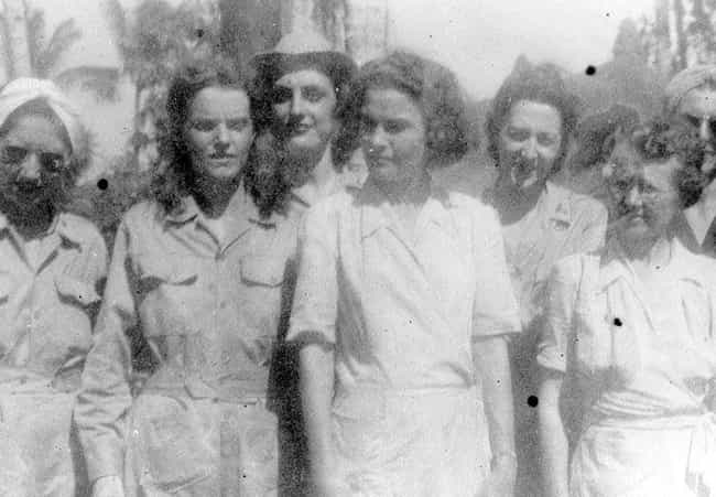 They Were The First Larg... is listed (or ranked) 3 on the list Japan's War Prison For Female American Nurses Abroad Was Shockingly Brutal