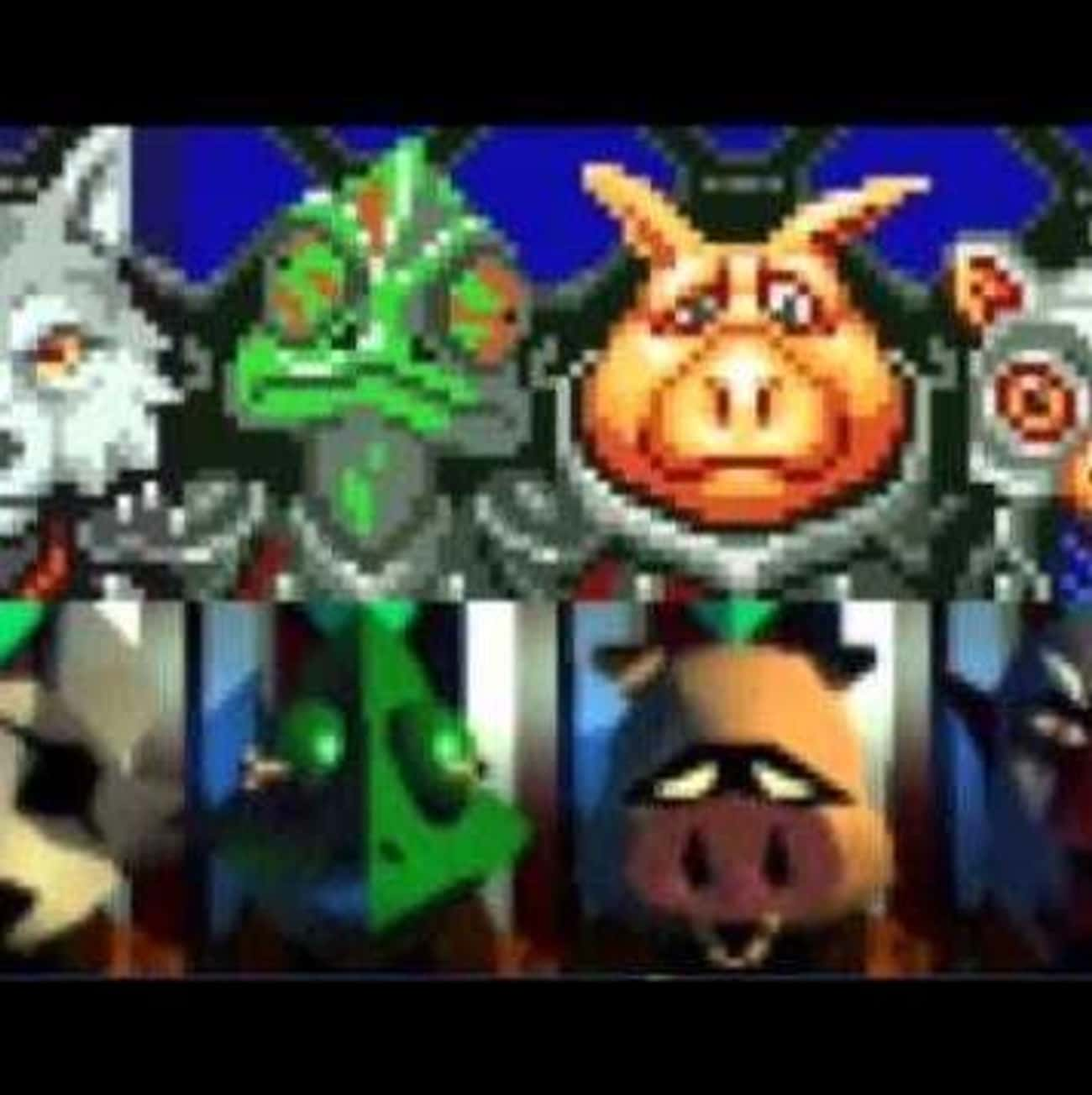 Star Wolf is listed (or ranked) 1 on the list List of All Star Fox 64 Bosses Ranked Best to Worst