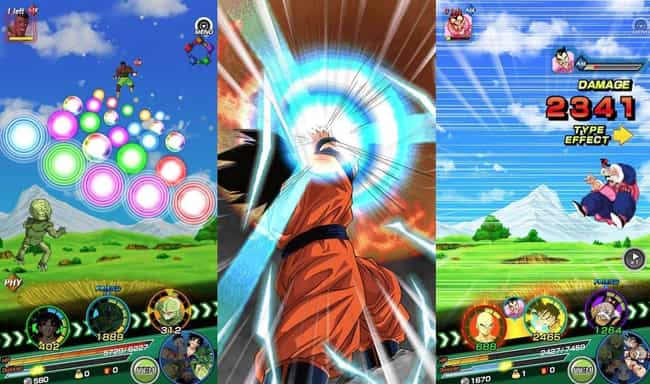 Dragon Ball Z Dokkan Bat... is listed (or ranked) 3 on the list 14 Anime Mobile Games That Are Definitely Worth Your Time