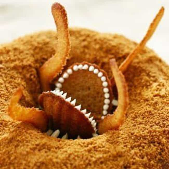Sarlacc Bundt Cake is listed (or ranked) 2 on the list Star Wars-Themed Snacks To Satisfy Your Hunger And Make You One With The Force