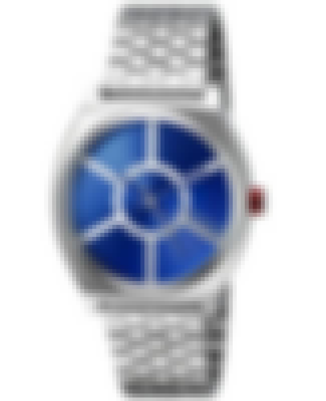 R2-D2 Time Teller Watch is listed (or ranked) 3 on the list Classy Star Wars Merch That Won't Make You Look Like An Overgrown Child