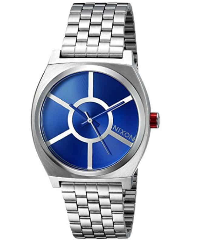 R2-D2 Time Teller Watch is listed (or ranked) 4 on the list Classy Star Wars Merch That Won't Make You Look Like An Overgrown Child