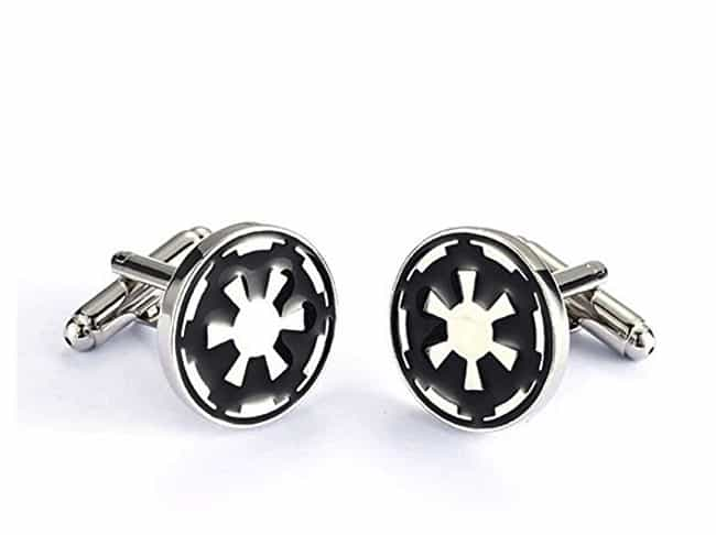 Imperial Crest Cufflinks is listed (or ranked) 4 on the list Classy Star Wars Merch That Won't Make You Look Like An Overgrown Child