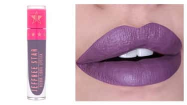 Velour Liquid Lipstick In Scor is listed (or ranked) 1 on the list Ultra Violet Is Going To Be Your Makeup Color Of Choice