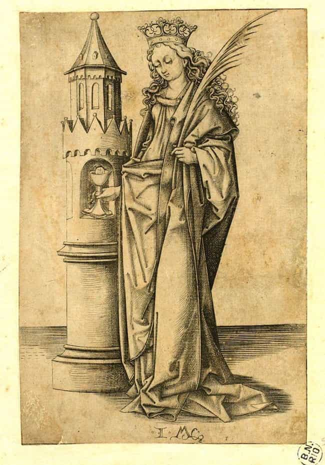 Despite Being In The Tow... is listed (or ranked) 3 on the list The Real-Life Inspiration For Rapunzel Is A 3rd-Century Saint Who Was Beheaded By Her Own Father