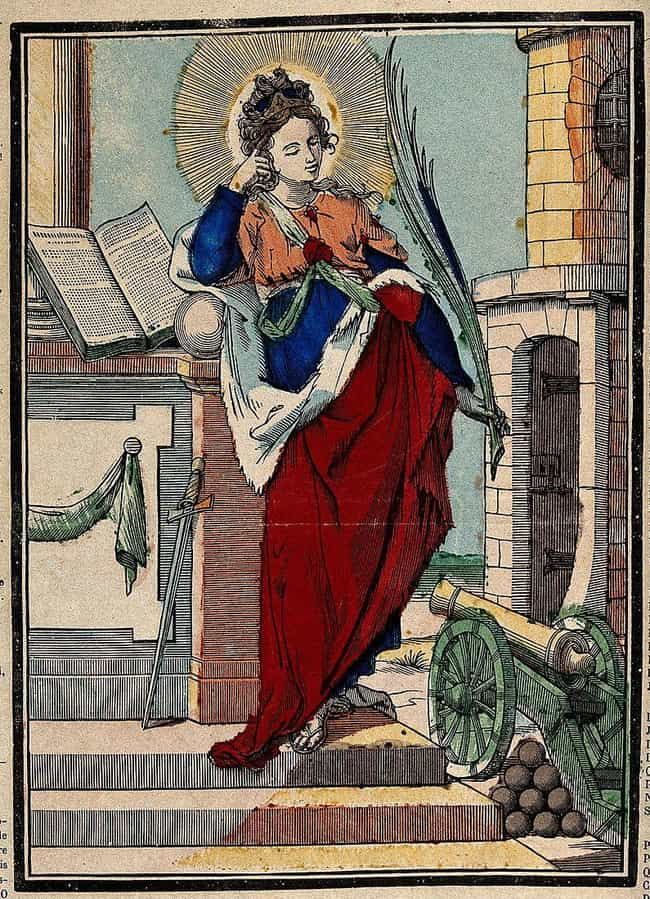 The Evil Witch In Barbar... is listed (or ranked) 2 on the list The Real-Life Inspiration For Rapunzel Is A 3rd-Century Saint Who Was Beheaded By Her Own Father