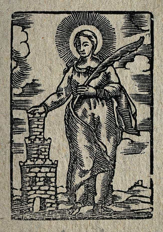 Barbara Had A Hidden Mes... is listed (or ranked) 4 on the list The Real-Life Inspiration For Rapunzel Is A 3rd-Century Saint Who Was Beheaded By Her Own Father
