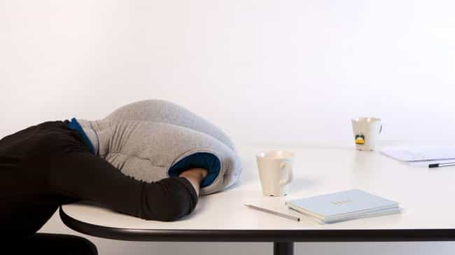 The Ostrich Pillow is listed (or ranked) 3 on the list The Weirdest Crowdfunding Campaigns That Actually Made Their Goal