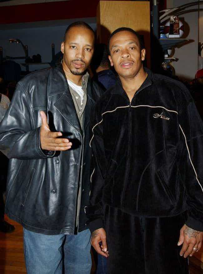 Dr. Dre And Warren G is listed (or ranked) 2 on the list Rappers You Didn't Know Were Related