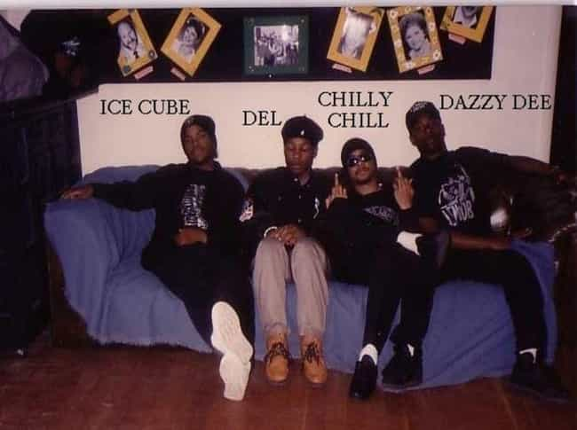 Ice Cube And Del The Funky is listed (or ranked) 3 on the list Rappers You Didn't Know Were Related