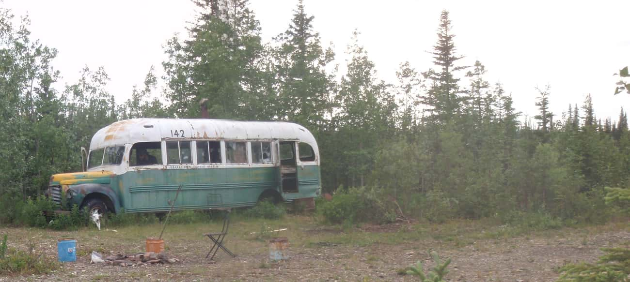 He Lived In An Abandoned Bus F is listed (or ranked) 2 on the list The Sad Tale Of Christopher McCandless, The Man From 'Into The Wild'