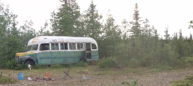 He Lived In An Abandoned... is listed (or ranked) 2 on the list The Sad Tale Of Christopher McCandless, The Man From 'Into The Wild'