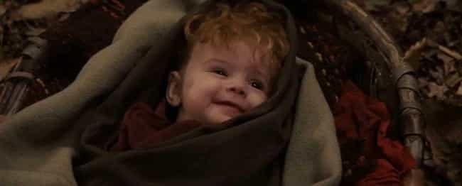 A Baby Is Sent Down A River, J... is listed (or ranked) 1 on the list 'Willow' Is A Watered-Down Version Of 'The Lord Of The Rings'