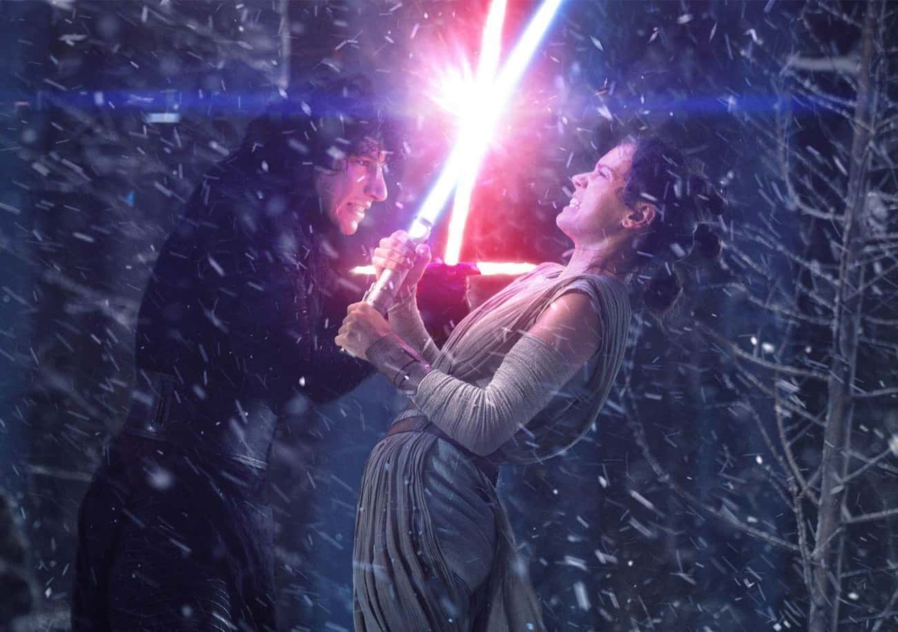 Rey And Kylo Are Perfectly Equ is listed (or ranked) 1 on the list Fan Theories About Rey And Kylo Ren That Will Mess With Your Head And Your Heart