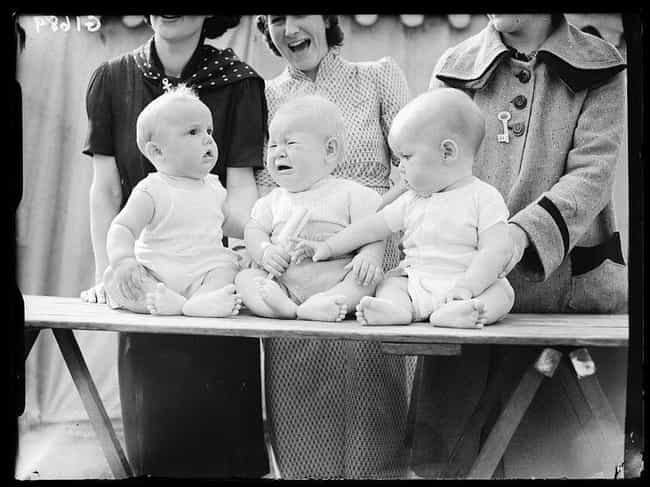 """State Fairs Used To Give... is listed (or ranked) 1 on the list Americans Used To Have """"Better Baby"""" Contests To Rank Who Had The Most Physically Perfect Infant"""