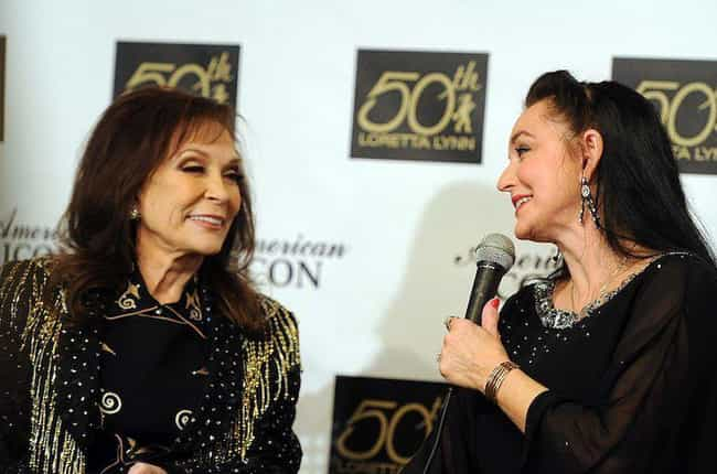 Loretta Lynn And Crystal... is listed (or ranked) 3 on the list Country Singers You Didn't Know Are Related