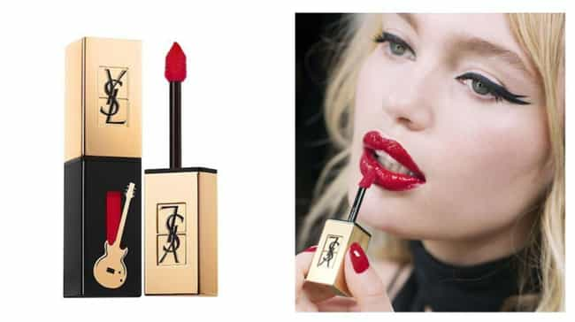 Glossy Stain Lip Color By YSL is listed (or ranked) 2 on the list Long Lasting Lip Stains That Will Survive Your Makeout Session