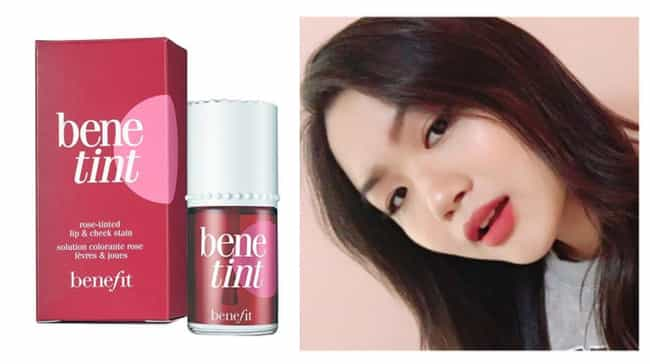 Benetint Rose Tinted Lip & Che... is listed (or ranked) 1 on the list Long Lasting Lip Stains That Will Survive Your Makeout Session