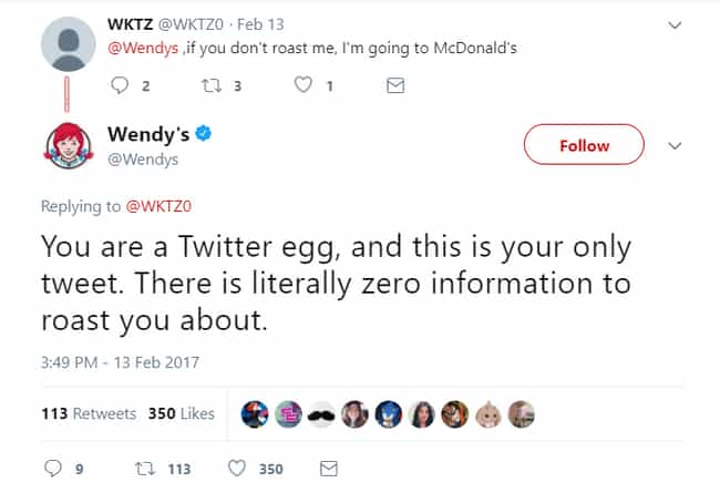 The Egg Came First (But Finish... is listed (or ranked) 17 on the list 20 Savage Tweets That Prove Wendy's Twitter Is The Best Twitter