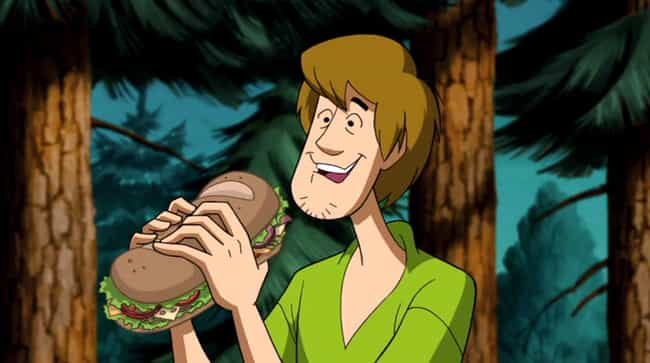 Shaggy Is A Pothead is listed (or ranked) 1 on the list Dark Scooby-Doo Fan Theories