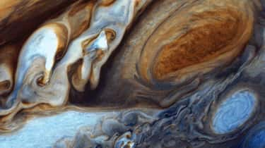 The Great Red Spot's Wind  is listed (or ranked) 1 on the list Welcome To Jupiter's Great Red Spot, The Most Fascinating Place In The Solar System