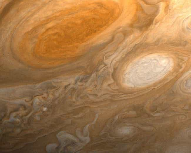The Storm Is About 700 Degrees... is listed (or ranked) 3 on the list Welcome To Jupiter's Great Red Spot, The Most Fascinating Place In The Solar System