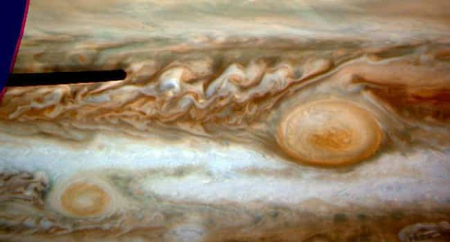 It Has Lost 1/3 Of Its S... is listed (or ranked) 4 on the list Welcome To Jupiter's Great Red Spot, The Most Fascinating Place In The Solar System