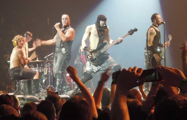 They Were Sued By A Germ... is listed (or ranked) 3 on the list Crazy Stories Of Rammstein, That Band Every Dude In High School Loved