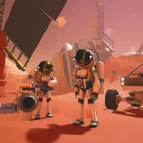 Astroneer is listed (or ranked) 6 on the list The Best Base Building Games On Steam
