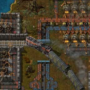Factorio is listed (or ranked) 3 on the list The Best Base Building Games On Steam