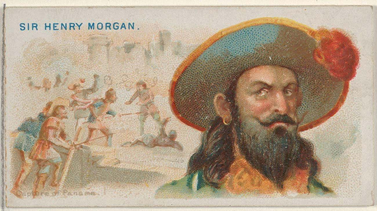 Captain Morgan Ransomed An Entire Town For A Fortune