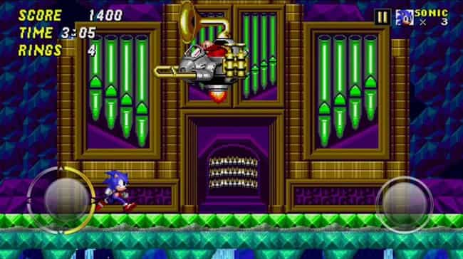 Hidden Palace Zone boss ... is listed (or ranked) 1 on the list List of All Sonic 2 Bosses Ranked Best to Worst