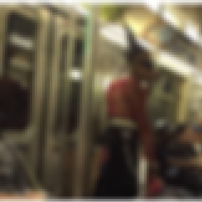 This Grandpa Refuses To Let Go... is listed (or ranked) 3 on the list City Subway Creatures Documents The Metro's Weirdest Riders, And It's Both Disturbing And Glorious