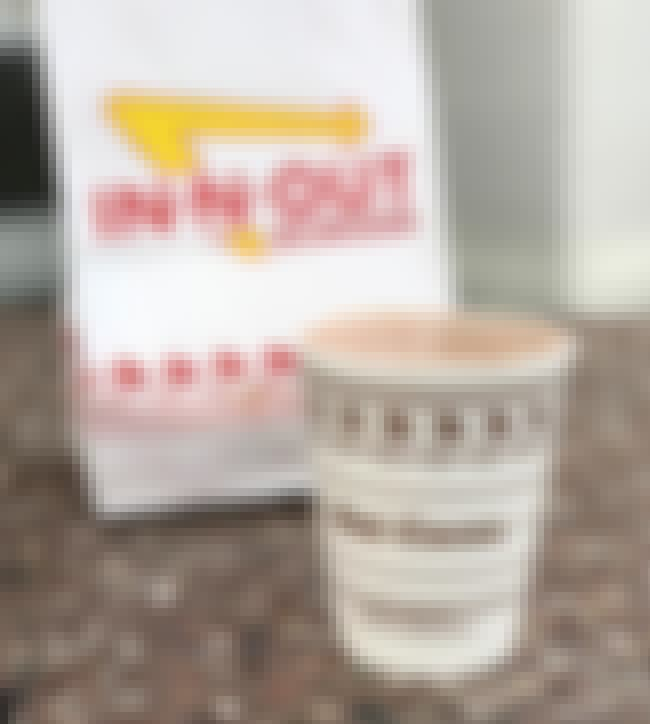 In-N-Out Hot Chocolate is listed (or ranked) 4 on the list New Fast Food Menu Items in 2018