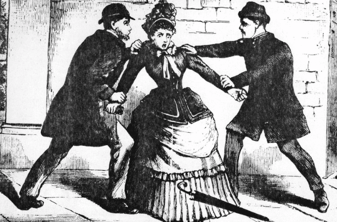 Random Women's Dresses Used To Be Flammable Death Traps, Killing 3,000 Ladies In One Year