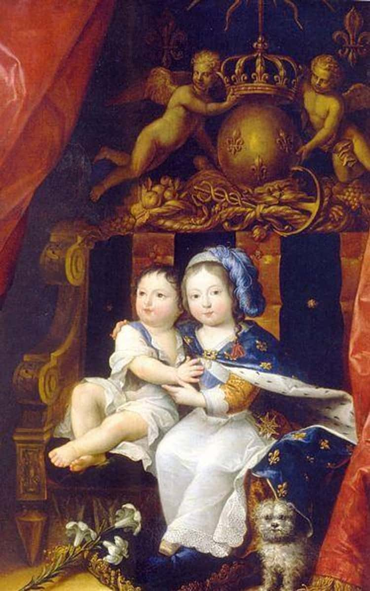 Philippe Was Two Years Younger Than His Brother, King Louis XIV