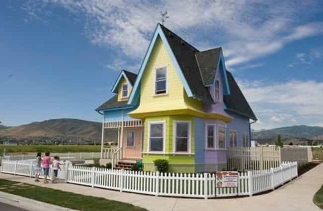 A Multi-Colored - And Po... is listed (or ranked) 3 on the list Real-Life Houses That Were Inspired By Cartoons