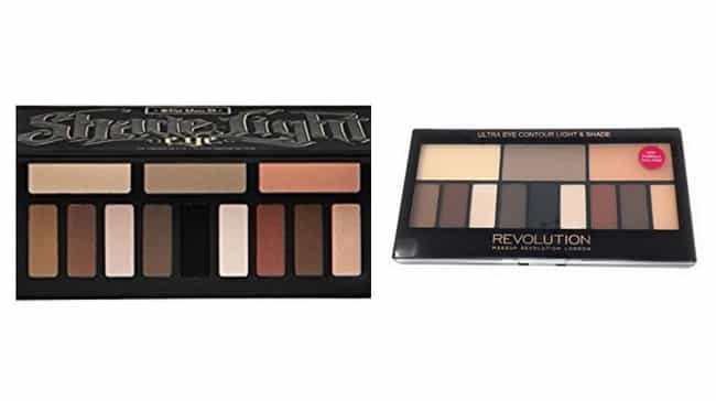 Kat Von D Shade + Light Eye Co... is listed (or ranked) 2 on the list The Best Eyeshadow Dupes For Cult Favorite Palettes